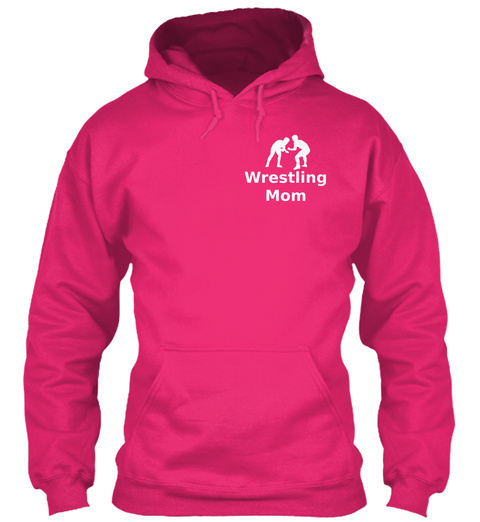 Wrestling Mom Heliconia T-Shirt Front