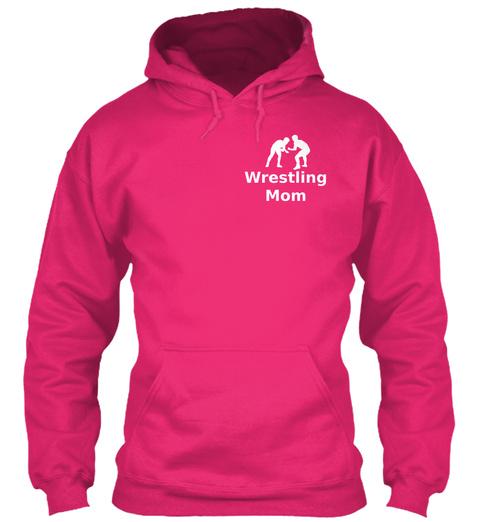 Wrestling Mom Heliconia Sweatshirt Front
