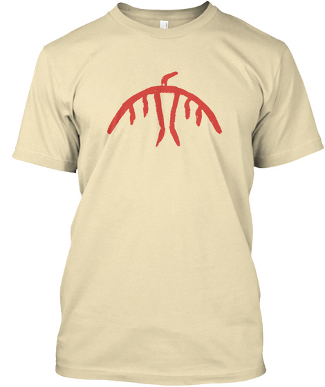 Nimkii Aazhibikong Language Camp Cream T-Shirt Front