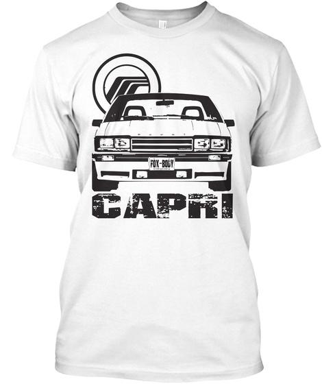 Capri White T-Shirt Front
