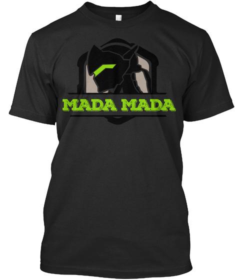 Mada Mada Black T-Shirt Front