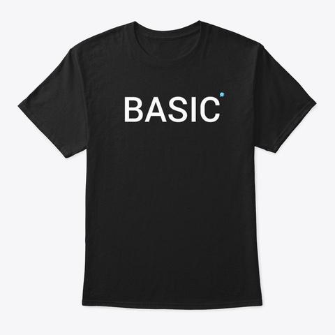 Coaster Force Basic Black T-Shirt Front