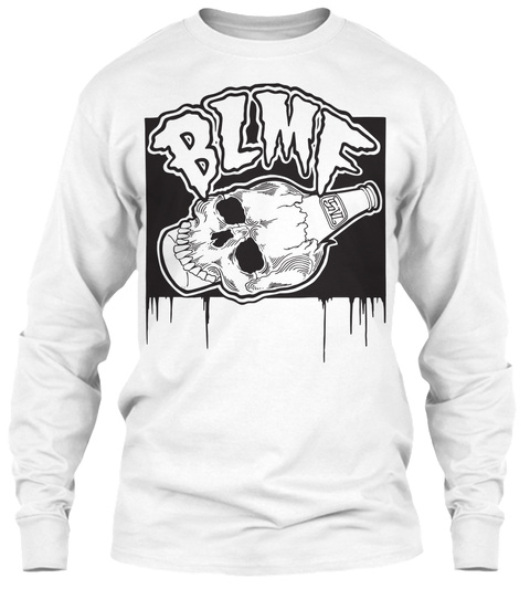 Blmf White T-Shirt Front