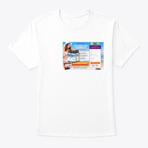 Essential One Slim Keto Pills White T-Shirt Front