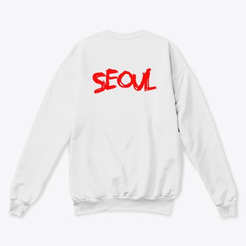 Gotension Seoul White  T-Shirt Back