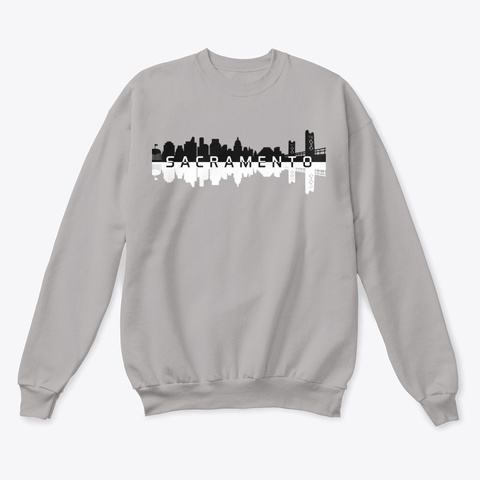 Sac Town Is On The Map Cozy Edition Light Steel  T-Shirt Front