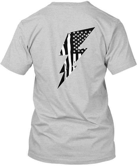 'merica Light Steel T-Shirt Back