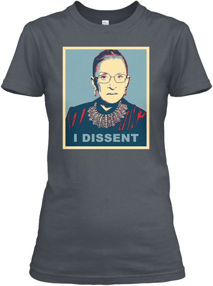 I Dissent Heavy Metal T-Shirt Front