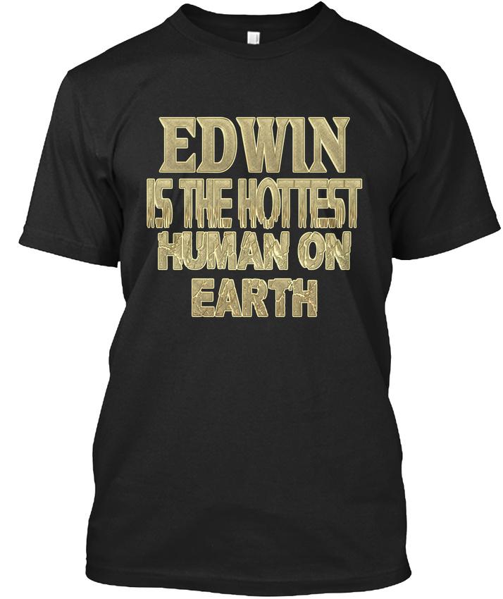 Edwin Hottest / Sensationnel Sensationnel Sensationnel - Is The Human On Earth T-shirt Élégant 47212d