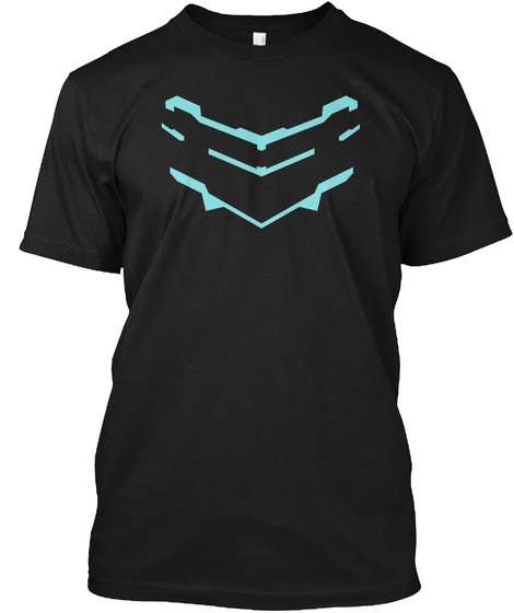 Isaac Clarke Dead Space 2 Black T-Shirt Front