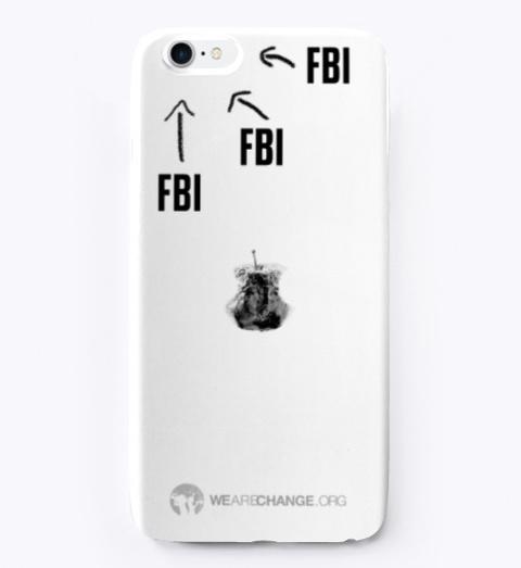 F Bi Phone Case White Standard T-Shirt Front