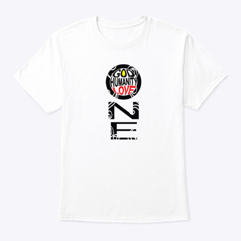 N/A White T-Shirt Front
