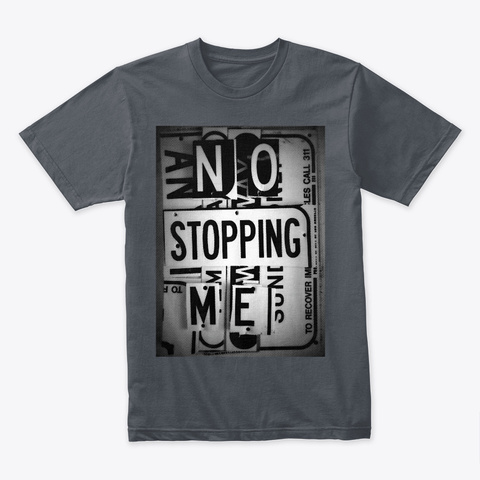No Stopping Heavy Metal T-Shirt Front