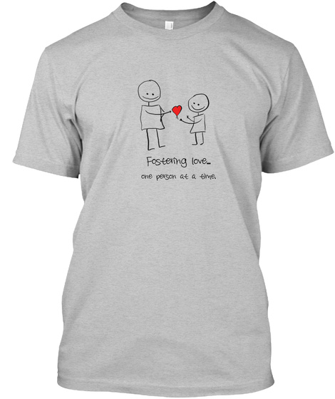 Person to Person - Foster care fundraiser - teespring tshirt