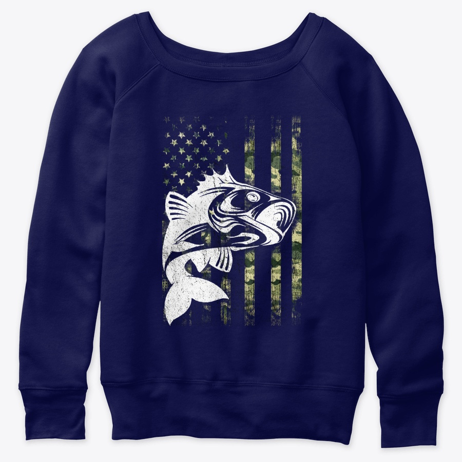 4th Of July Fishing Camouflage Lover Usa SweatShirt
