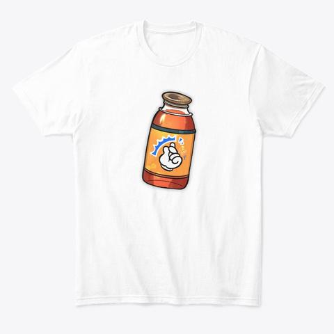 Matt Snaps Tee! White T-Shirt Front