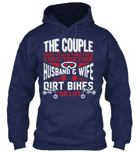 The Couple That Holidays Together Stays Together Husband & Wife Cruisers For Life Navy Sweatshirt Front