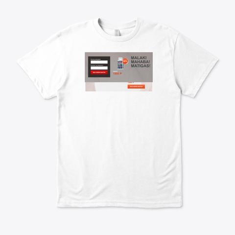 Dozex Tabletas White T-Shirt Front