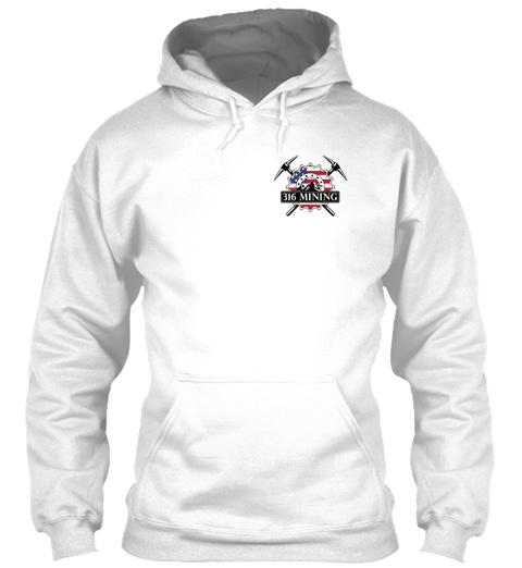 316 Mining White T-Shirt Front