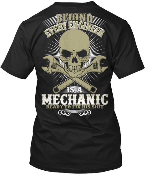 Buy It Now! Black T-Shirt Back
