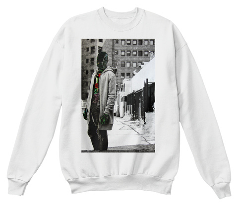 They Dont Know My Nature Sweatshirt White  Sweatshirt Front