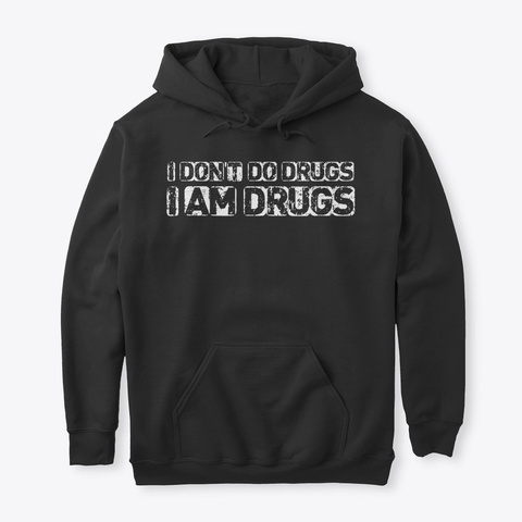 Limited Edition   Funny Quotes Hoodie Black T-Shirt Front