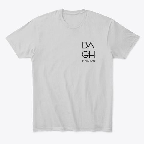 Be A Good Human Light Heather Grey  T-Shirt Front