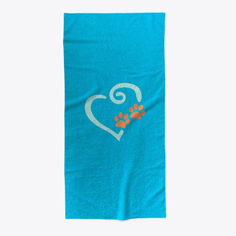 Doglover Beach Towel Standard T-Shirt Front