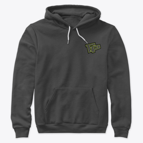 Circle Of Shred Unisex Hoodie Dark Grey Heather T-Shirt Front