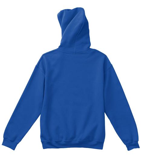Domino Artist (Youth) Royal Blue T-Shirt Back