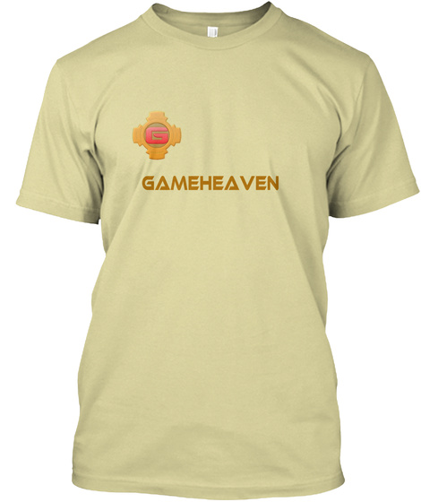 Gameheaven Sand T-Shirt Front