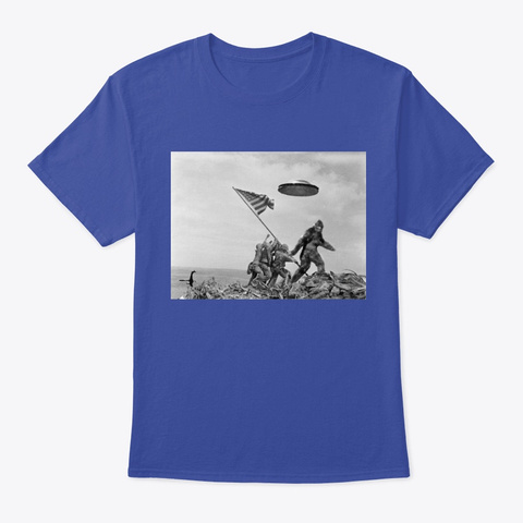 Bigfoot  Deep Royal T-Shirt Front