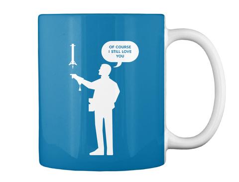 Falconer 1 Man Mug [Int] #Sfsf Royal Blue Mug Back