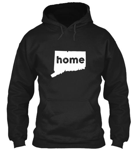 Home Black T-Shirt Front