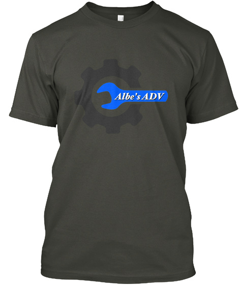 Albe's Adv Smoke Gray T-Shirt Front