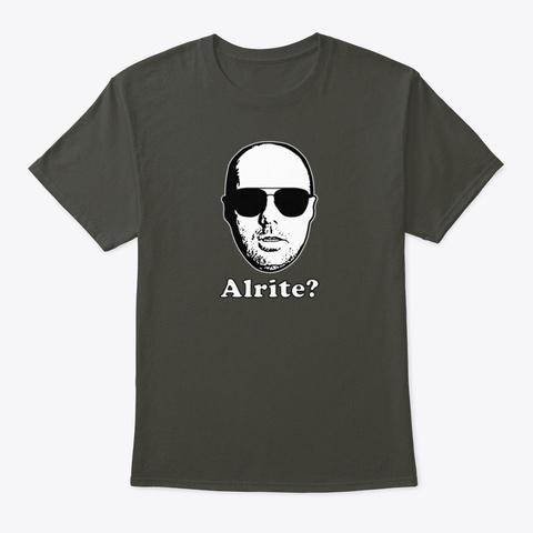 Karl Pilkington   Aight? Smoke Gray T-Shirt Front