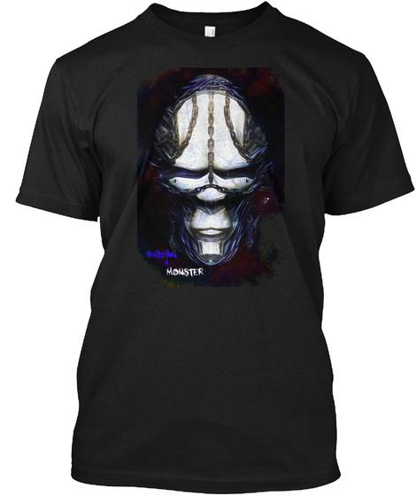 Bam Black T-Shirt Front