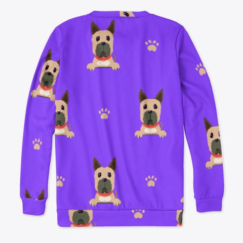 Purple Cute Great Dane Sweatshirt Standard T-Shirt Back