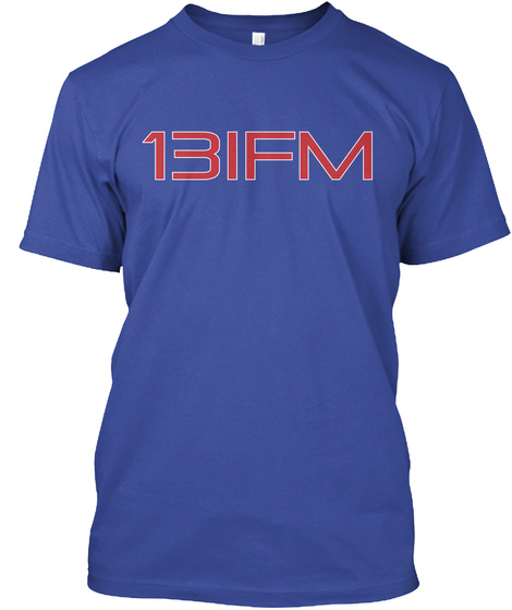 13 Ifm Deep Royal T-Shirt Front