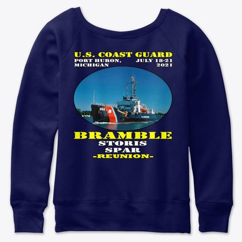 Bramble (Wlb 392) Navy  T-Shirt Back