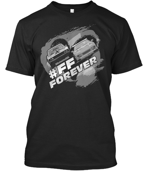 #Ff Forever Black Kaos Front