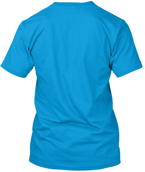 Not Feelin' It Teal T-Shirt Back