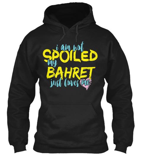 Bahret  Black T-Shirt Front