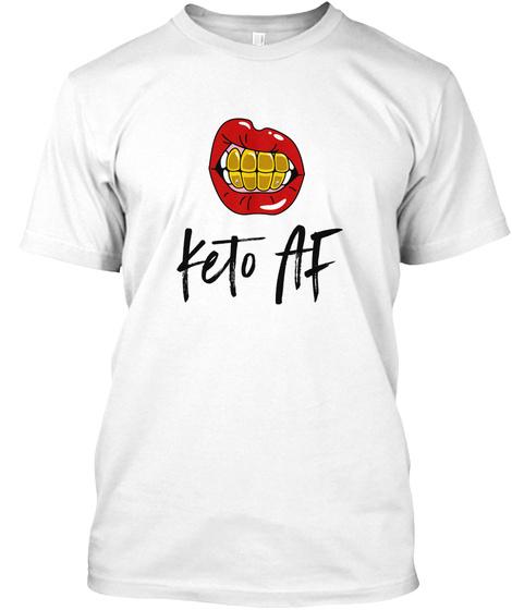 Ke To Af White T-Shirt Front