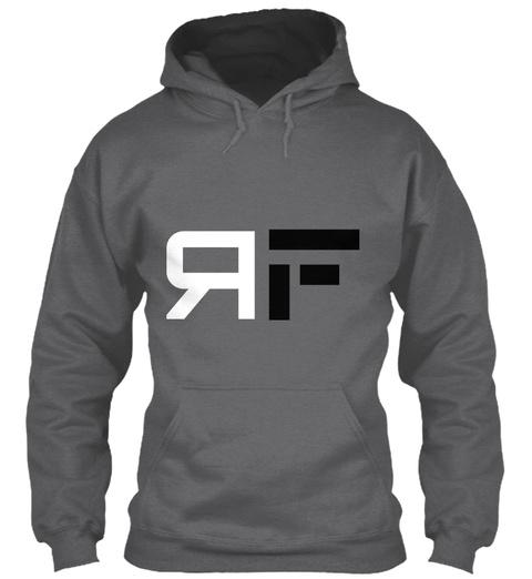 F R Dark Heather T-Shirt Front