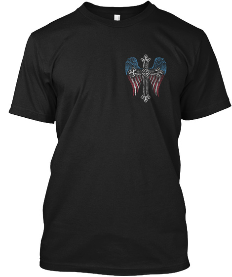 With Pain Comes Strength Black T-Shirt Front