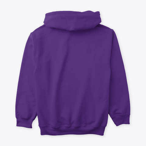 Pinky Rose Purple Sweatshirt Back