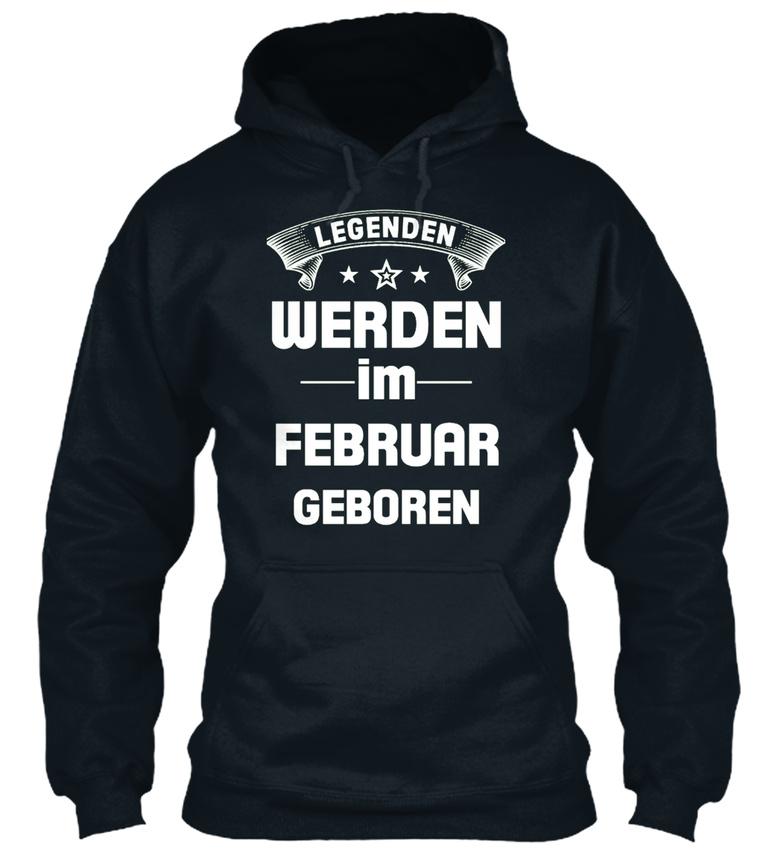 Soft-Legenden-Werden-Im-Februar-Geboren-Bequemer-Bequemer-Kapuzenpullover