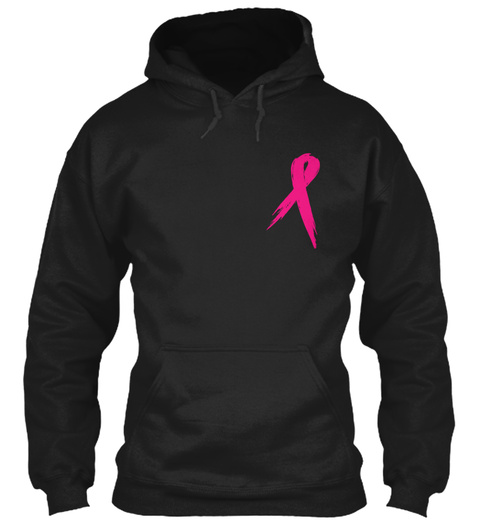 Towing For Ta Tas! Black T-Shirt Front
