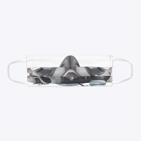 Fighter Pilot Mask Standard T-Shirt Flat